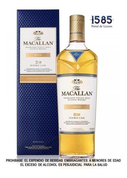 Whisky The Macallan 12 Años Double Cas - mL a $333