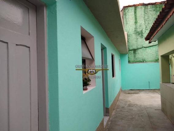 Casa Com 2 Dormitórios Para Alugar, 50 M² Por R$ 750,00/mês - Vila Formosa - São Paulo/sp - Ca0716