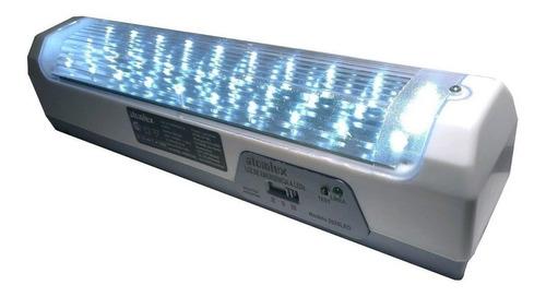 Imagen 1 de 2 de Luz de emergencia Atomlux 2028-LED con batería recargable 0.9W 220V blanca