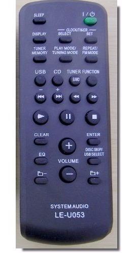 Controle Para Som Sony Rm-scu 37b Fst-sh2000 / Mhc-ec590