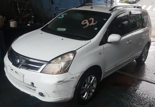 Nissan Livina 1.8 Sl 2012 (sucata Somente Peças)