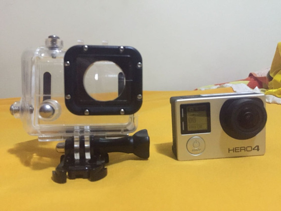 Gopro Hero 4 Silver Edition + Lcd (defeito)