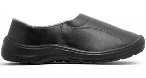Zapato Zueco Sanidad Hombre Cas (2º Ombu) Cuero Negro 37al46
