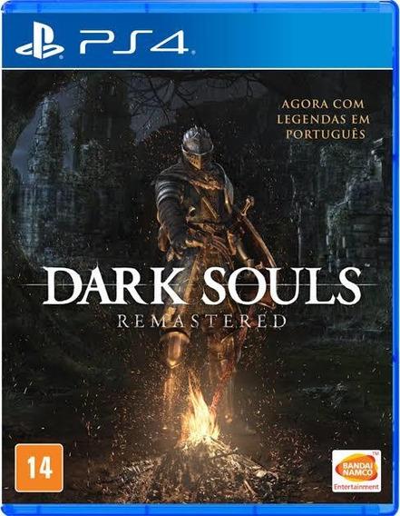 Dark Souls Remastered Ps4 Secundario (envio Agora) Com Dlc