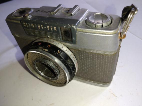 Máquina Fotográfica Olympus-pen Ees-2 Antiga Colecionador