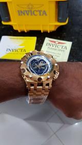 Relógio Invicta Venom 16805 - Ouro 18k 100% Autêntico