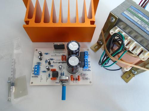 Modulo Amplificador Subwoofer 100 Watts C/trafo Y Disipador