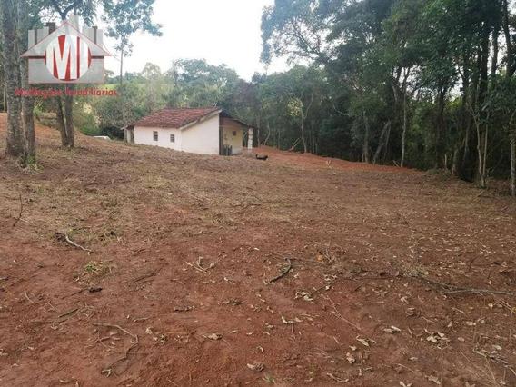 Sítio Rico Em Água Com Nascente, Casa Simples À Venda, 48000 M² Por R$ 340.000 - Tuiuti - Tuiuti/sp - Si0031