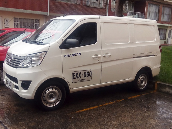 Vendo Barata Mini Van Changan 2018