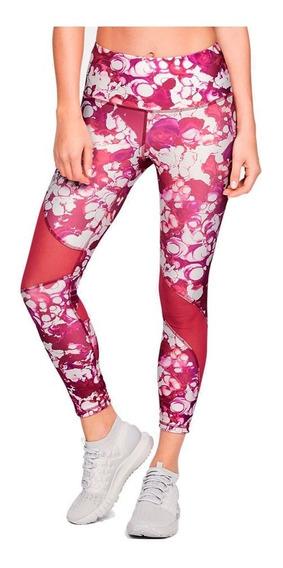 Calzas Under Armour Crop Print Mujer