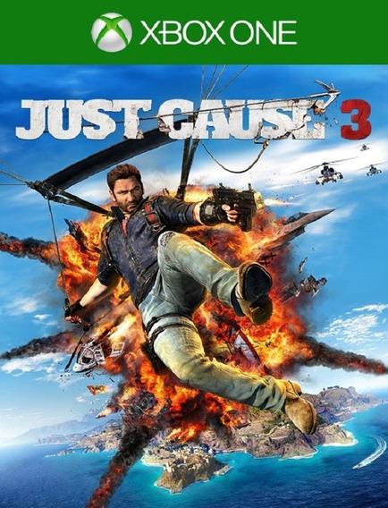 Just Cause 3 Xbox One - 25 Dígitos (envio Rápido)