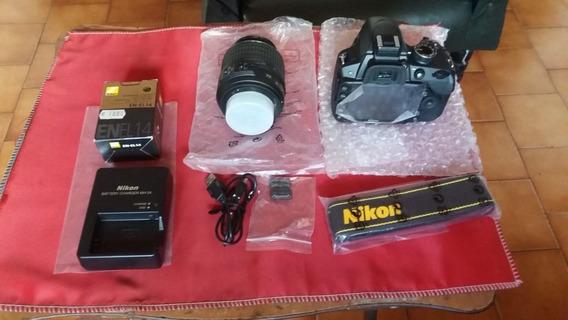 Camera Nikon D3100 Com Objetiva 18 55mm E Acessorios