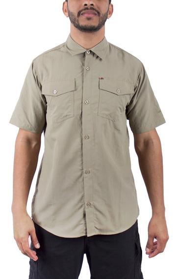 Camisa Montagne De Hombre Sydney M/corta Trekking