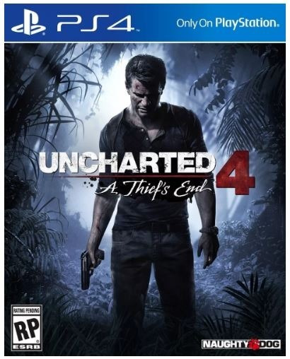 Uncharted 4 Ps4 Midia Fisica