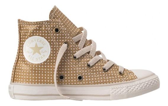 Zapatillas Botitas Converse All Star Shine Hi Niñas Rosario