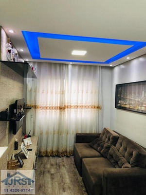 Apartamento Com 2 Dormitórios À Venda, 51 M² Por R$ 290.000 - Vila São João - Barueri/sp - Ap2096