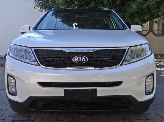 Kia Sorento 3.5 V6 4x4 Aut 7l C/ Teto Solar. Branco 2014/15
