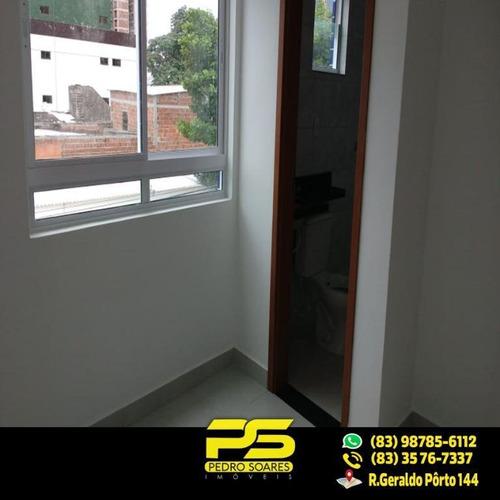 (oportunidade) Apartamento Em Manaíra Com 44m² E 2 Quartos Sendo 1 Suíte - Ap2007