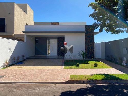 À Venda Por R$ 790.000 Casa Com 3 Dormitórios, 157 M²  - San Marcos - Ribeirão Preto/sp - Ca0606