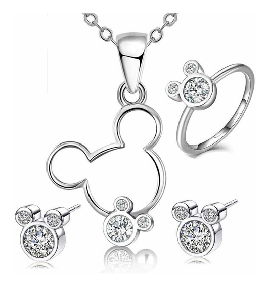 Swarovski Elements Set Disney Mimi Mickey Mouse