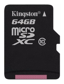 Tarjeta de memoria Kingston SDC10G2 64GB