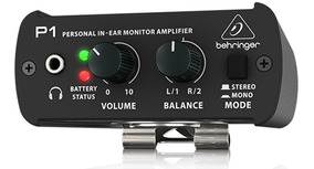 P1 Pré Amplificador P/ Fone Behringer Powerplay Powerclick