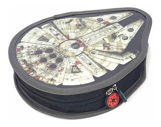 Estojo Escolar Nave Star Wars - 33055