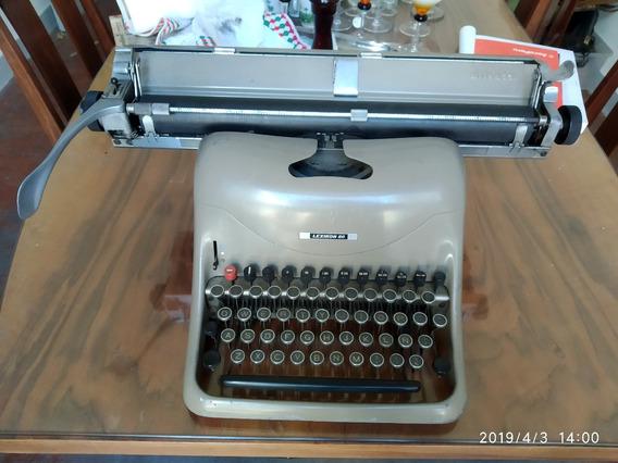 Máquina De Escribir Olivetti Lexikon 80 Italiana 1 1/2 Única