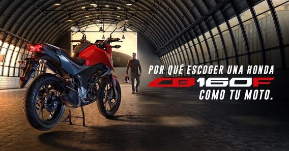 Moto Honda Cb 160f Dlx