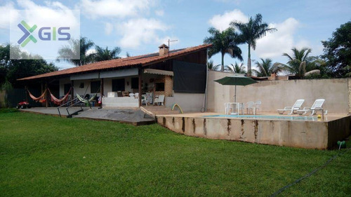 Imagem 1 de 16 de Chácara Com 2 Dormitórios À Venda, 1000 M² Por R$ 450.000 - Residencial Vista Alegre Ii E Iii (zona Rural) - São José Do Rio Preto/sp - Ch0105