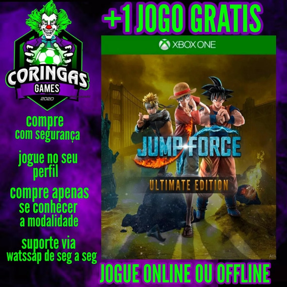 Jump Force Ultimate Edition Xbox One Mídia Digital + Brinde