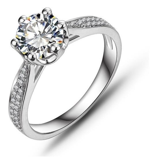 Anillo Compromiso Diamond Bride 2.0 Ct. Ak Jewelry Oro 18k