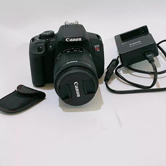 Câmera Canon T5i Dslr + Controle Remoto Original [usado]