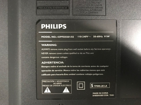 Placa Fonte 715g7574-p01-000-002m - Philips 43 43pfd5501/55