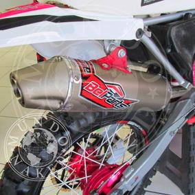 Escape E Curva Bomber Belparts Xre 300 Honda Completo