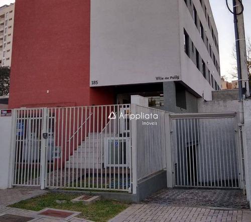 Apartamento Com 2 Dormitórios À Venda Por R$ 235.000,00 - Capão Raso - Curitiba/pr - Ap0386