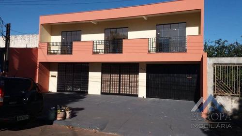 Imagem 1 de 13 de Sobrado Com 3 Dormitórios À Venda, 250 M² Por R$ 580.000,00 - Jardim Silvino - Cambé/pr - So0094