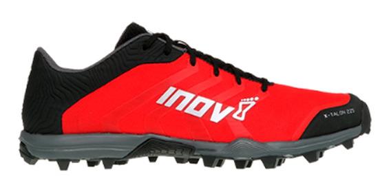 Tenis Dama Inov8 Rojo/negro Carrera Montaña X-talon 225