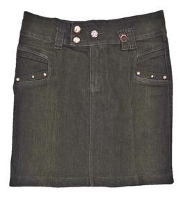 Saia Jeans Black Moda Evangélica Tamanho 36 Promoção Baixou