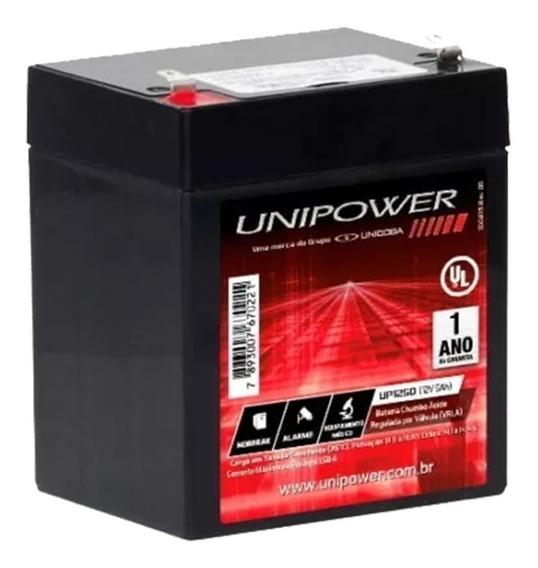 Bateria 12v 5ah Nobreak Alarmes Cerca Elétrica - Up1250