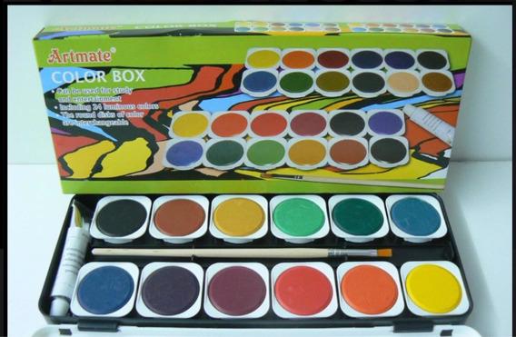 Acuarelas Artmate Color Fox X24 Pastillas