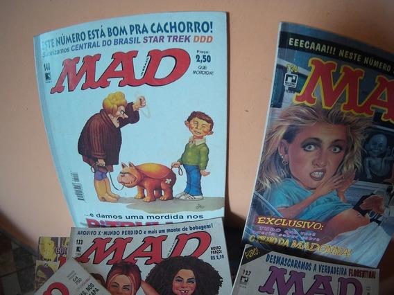Combo Mad 10 Revistas