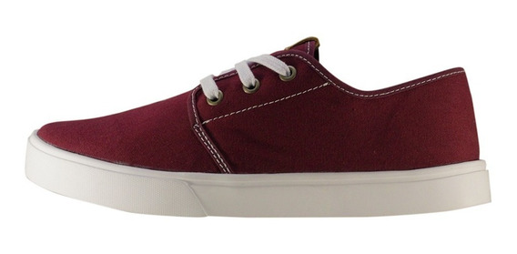 Tênis Casual Faith Co. Ezy Light Bordo/branco + Original