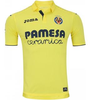 Camisa Joma Villarreal I 2017/2018