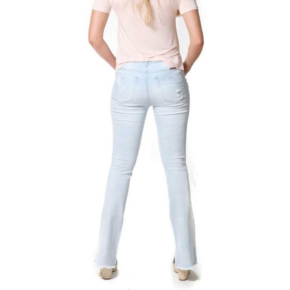 Calca Fem Bianca Bronze Jeans
