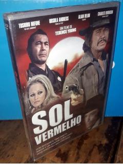 Dvd Sol Vermelho Original Lacrado! Charles Bronson!