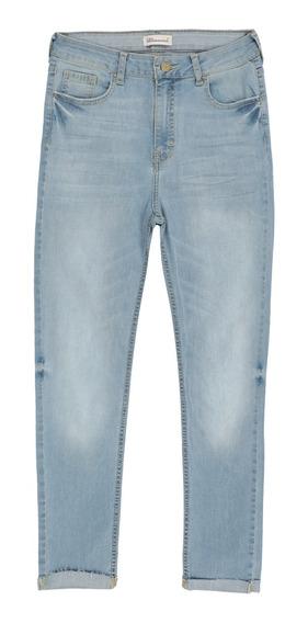 Jeans Corte High Rise Stretch De Mujer C&a