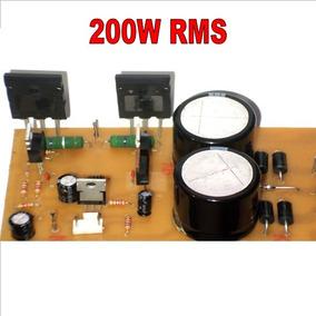 Projeto De Amplificador Mono De 200w Rms Arquivos Em Pdf