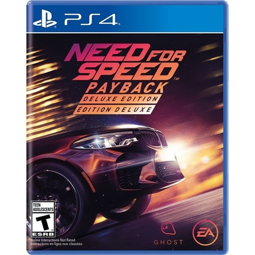Need For Speed Payback Deluxe Ps4 Psn Code 2 Pt Br Envio Já
