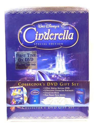 Disney Cenicienta Edicion De Súper Lujo Boxset Nuevo